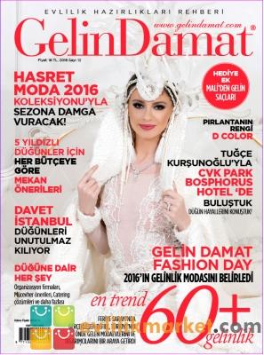 Gelin Damat - Gelin Damat Dergisi 2016 Yeni Sayı