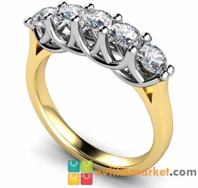 Beştaş Pırlanta Evlilik Yüzüğü