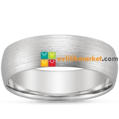 Gelin Damat Alyans - Gümüş Alyans - 925 Ayar 9mm