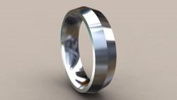 Gümüş Alyans Modelleri 6.5 mm - Thumbnail